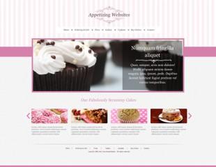 Sample Restaurant – Bakery Pink