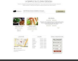 Sample Restaurant – Clean