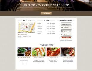 Sample Restaurant – Elegance