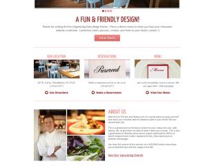 Sample Restaurant – Friendly