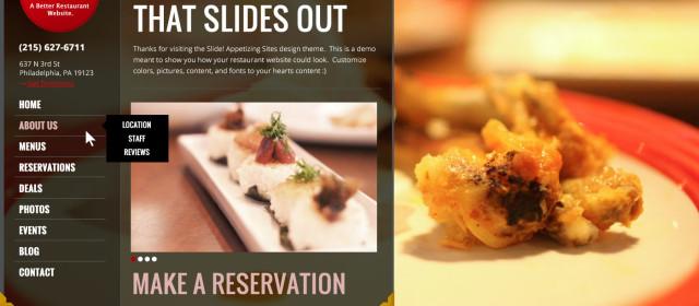 Sample Restaurant – Slide Out